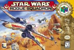Star Wars - Rogue Squadron (USA) Box Scan